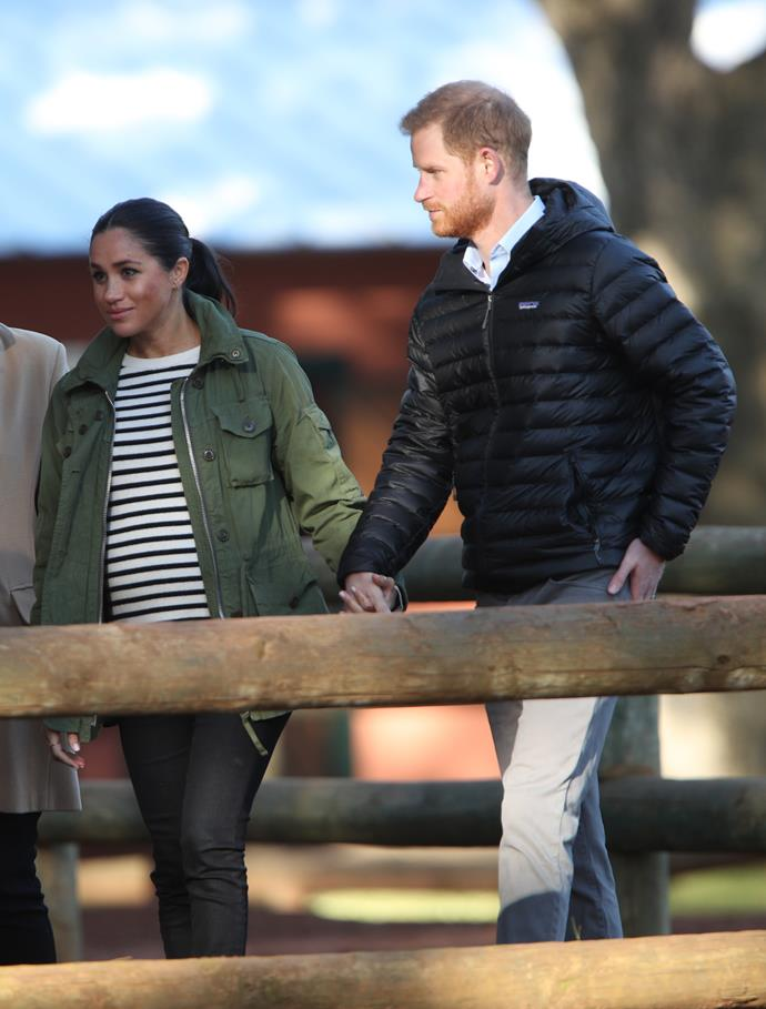 Meghan and Harry also look set for an overseas venture.