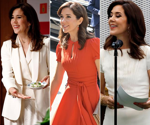 Crown Princess Mary was all kinds of glam for her South Korea tour in May.