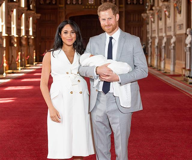 Harry and Meghan are raising Archie in a very plush setting, it seems!