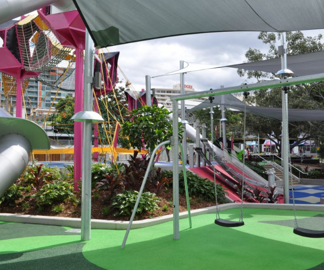 Southbank Parklands has a vast collection of exciting things for children to enjoy.