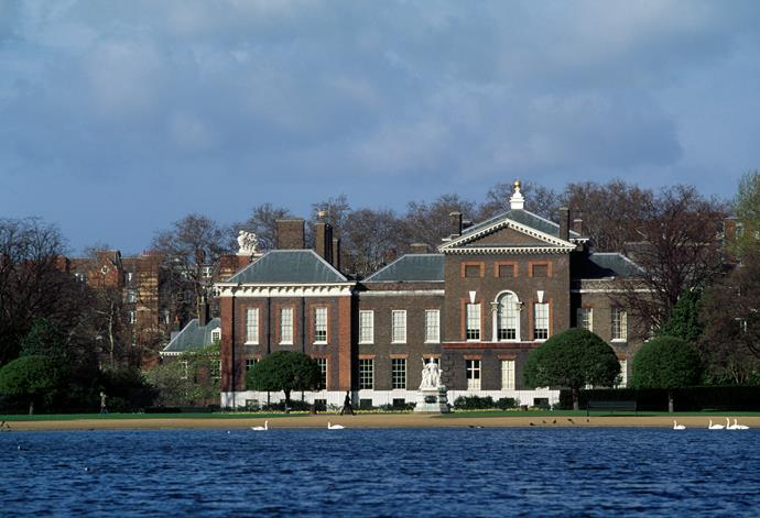 Kensington Palace (pictured), underwent its own major renovation job in 2014.