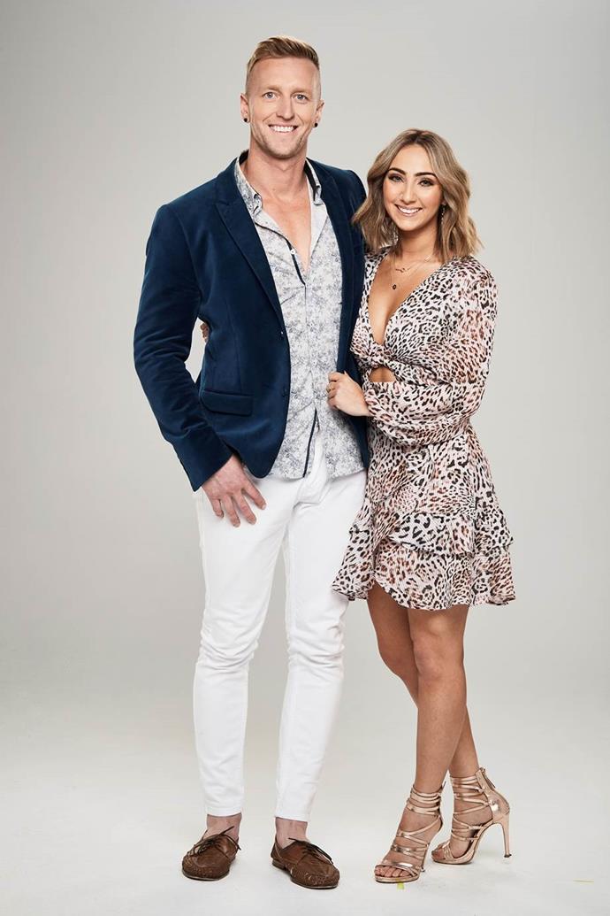 Ben and his girlfriend, Christie Cassar.