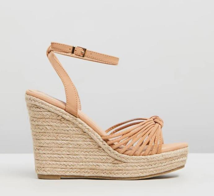 "And how cute are these Billini wedges? Available from the Iconic for $69, you can't really go wrong. Buy them [here](https://www.theiconic.com.au/samos-764215.html|target=""_blank""