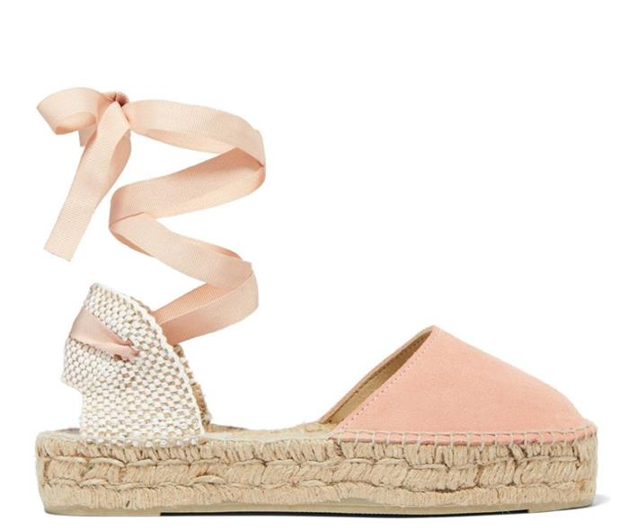 "We're also low-key obsessed with this flat-style espadrille (because sometimes our feet need a break!). Available for $55.98 from Net-A-Porter. Buy them [here](https://www.net-a-porter.com/au/en/product/1048703|target=""_blank""