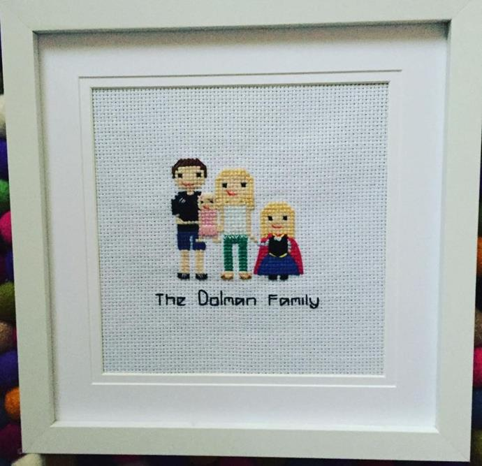 The cutest little keepsake for a growing family.
