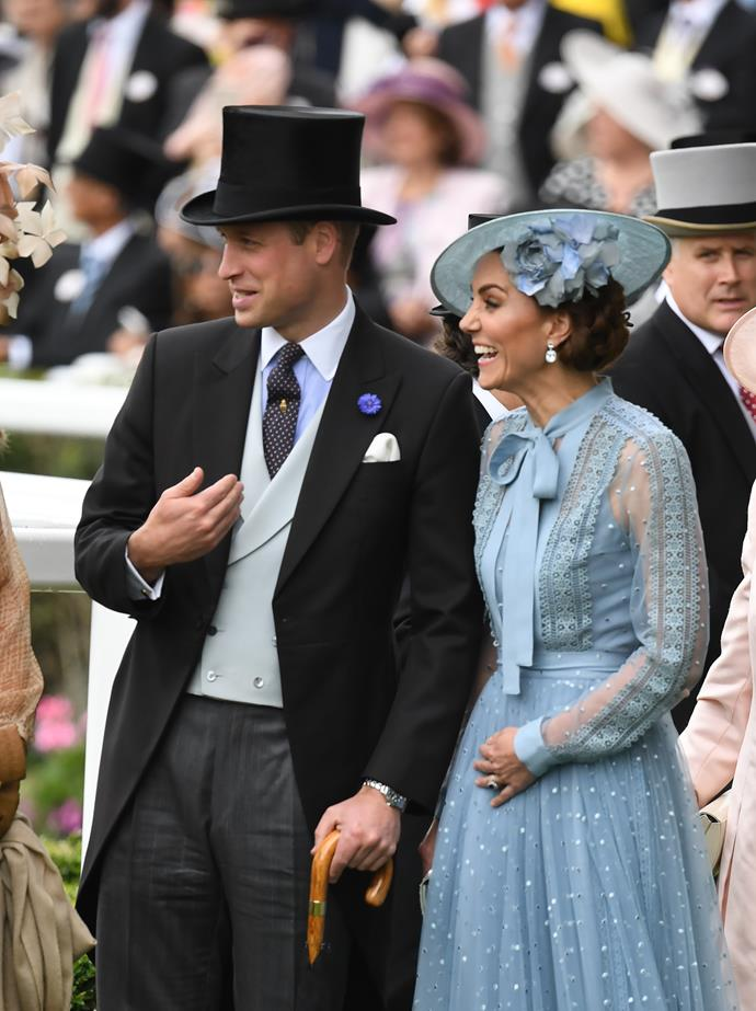 Kate and William were looking particularly overjoyed at Royal Ascot recently.