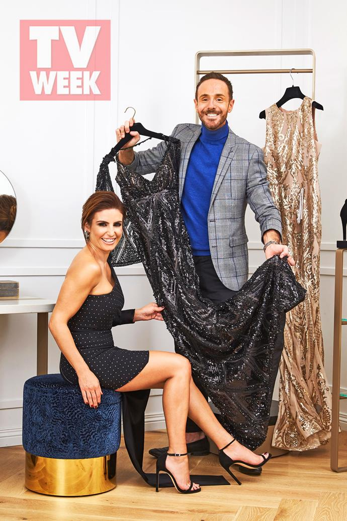 Donny and Ada team up to find the perfect Logies dress.