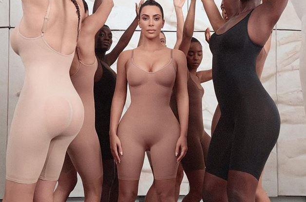 Kim Kardashian has been slammed over the title of her new shapewear line.