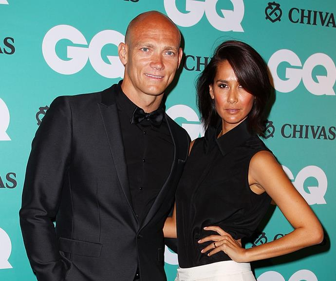 Michael and Lindy Klim at the 2014 GQ Men of the Year Awards.