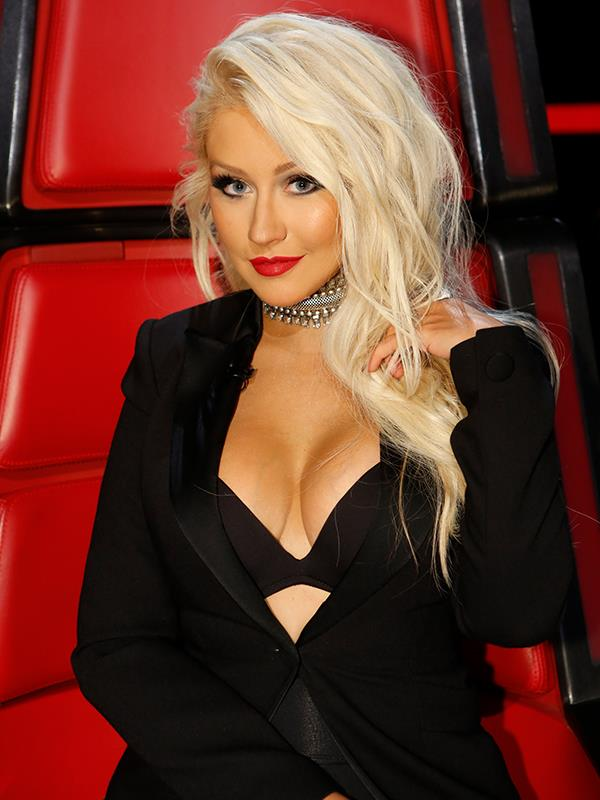 Christina was a coach on US edition of *The Voice* between 2011 and 2016.