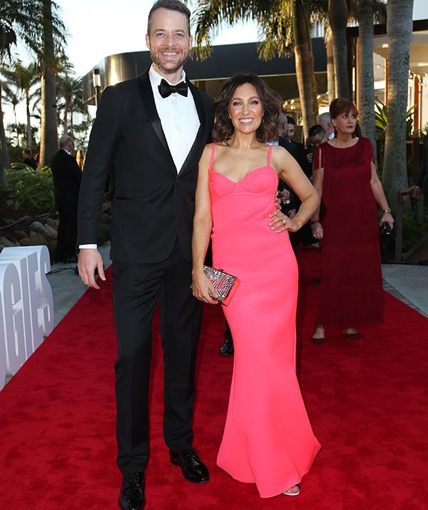 One word: Iconic. The dynamic duo known as Hamish Blake and Zoe Foster-Blake are the image of perfection - how fab is Zoe's dress!?