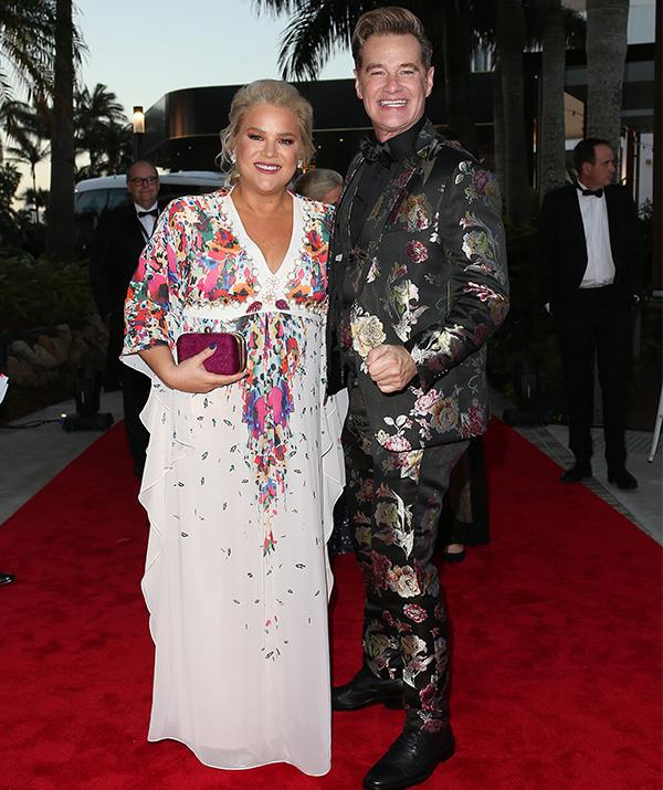 They're a long way for the *I'm A Celeb* jungle now! Richard Reid and Yvie Jones are all dolled up for Australia's night of nights.