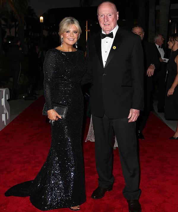 Marilyn and Alf have gone glam! *Home and Away* stalwarts Emily Symons and Ray Meagher look utterly fabulous.
