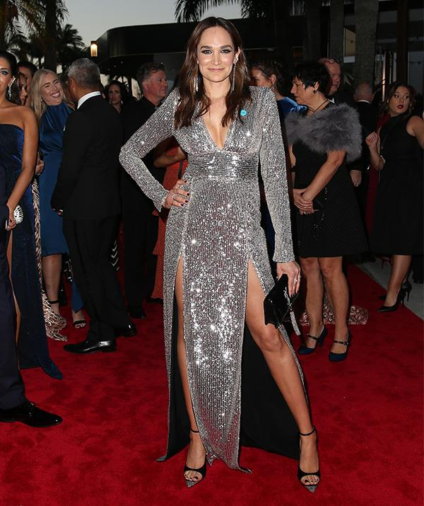 *Wentworth*'s Nicole da Silva is a silver stunner!