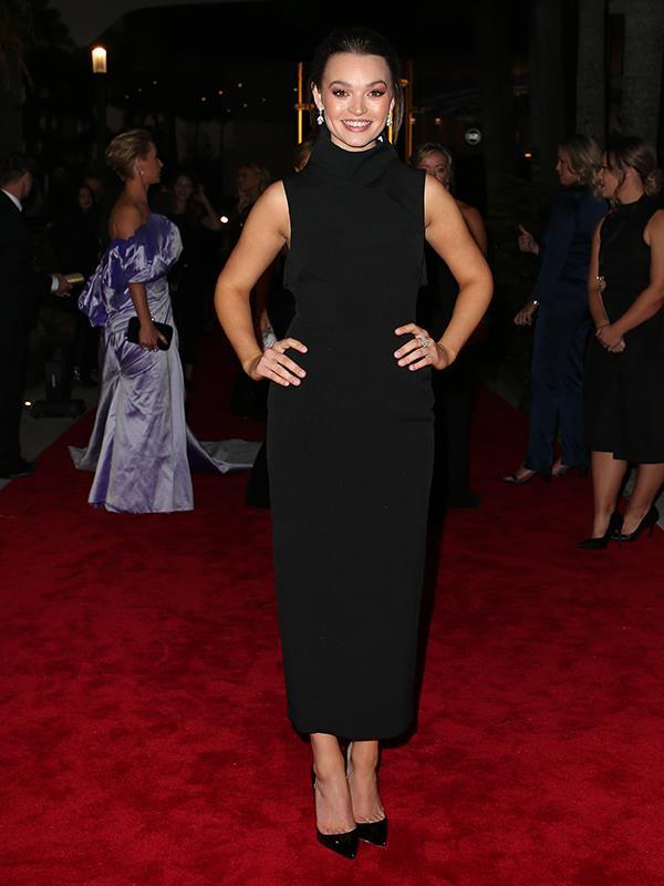 Courtney Miller looks like Audrey Hepburn reborn.