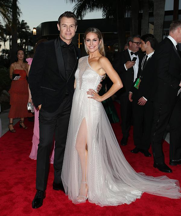 "Gold Logie nominee Rodger Corser and Renae Berry are glamour and class personified. On the red carpet, Rodger said he didn't think he'd win the gong despite multiple nominations over the years. ""I think I'm going to go for John Wood's record, he was nominated nine times before he won, so nine times the bridesmaid,"" the *Doctor Doctor* star joked. ""I'm happy to sit back and watch the other ones battle it out."""