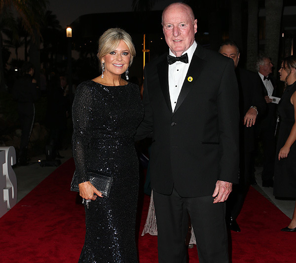 *Home and Away's* Emily Symons and Ray Meagher on the red