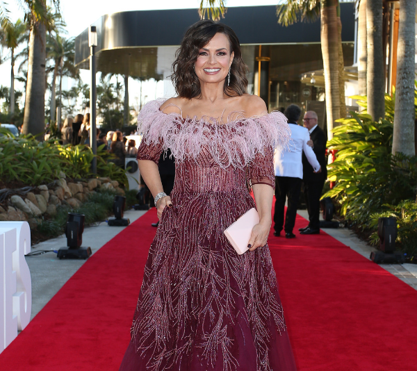 Lisa Wilkinson on the red carpet at the Logies.