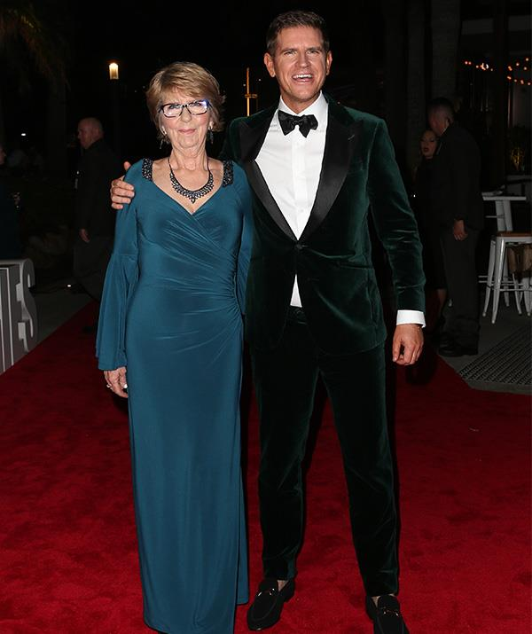 Sam and his mum made quite the red carpet statement!