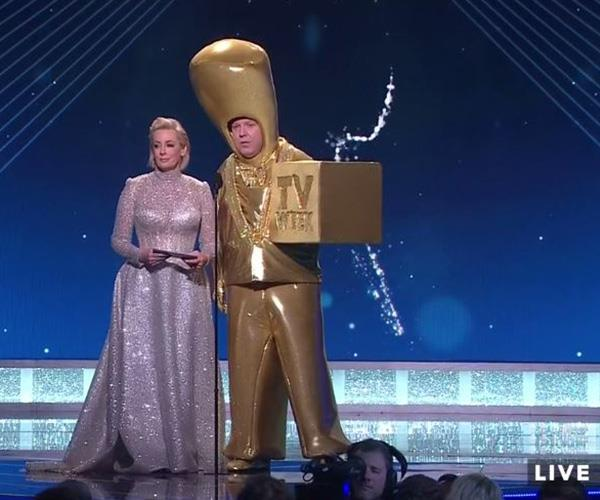 Amanda Keller and...a Gold Logie?