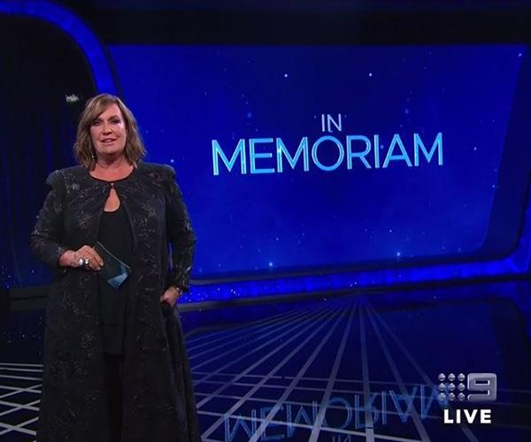 "Tracey Grimshaw paid tribute to [late journalist Mike Willesee](https://www.nowtolove.com.au/news/local-news/mike-willesee-dies-54422|target=""_blank"") and many more in the In Memoriam segment."