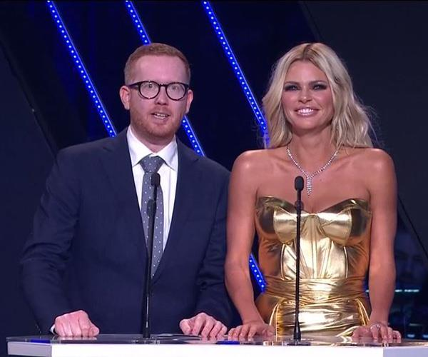 Australia's hottest duo: Luke McGregor and Sophie Monk.