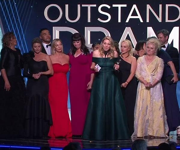 *Wentworth* took the gong for Most Outstanding Drama and we think it's thoroughly well-deserved!