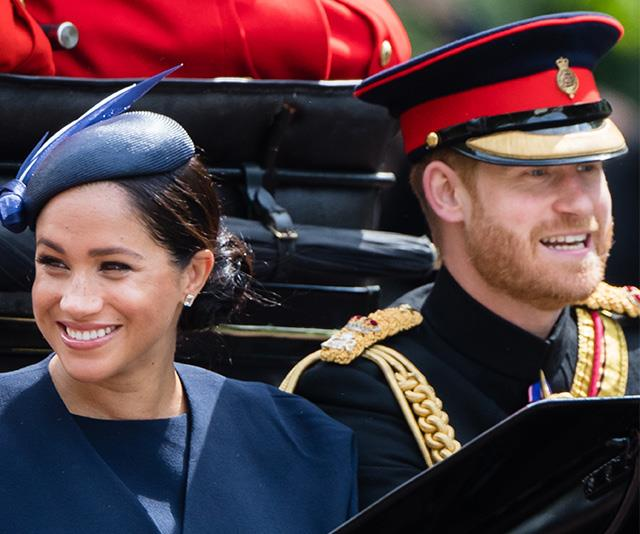 Meghan and Harry have friends in high places, and they're all rallying to support Archie on his big day.