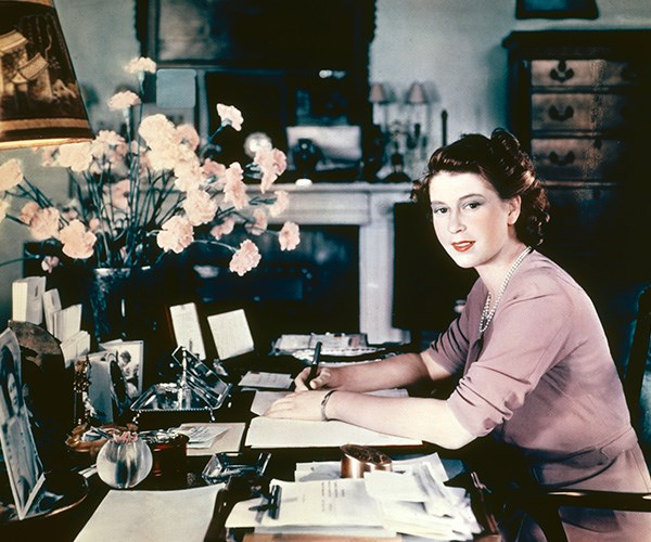 The Queen has kept a diary since she was a teenager, likely inspired by her father, King George VI, who kept one also. *(Image: Getty)*