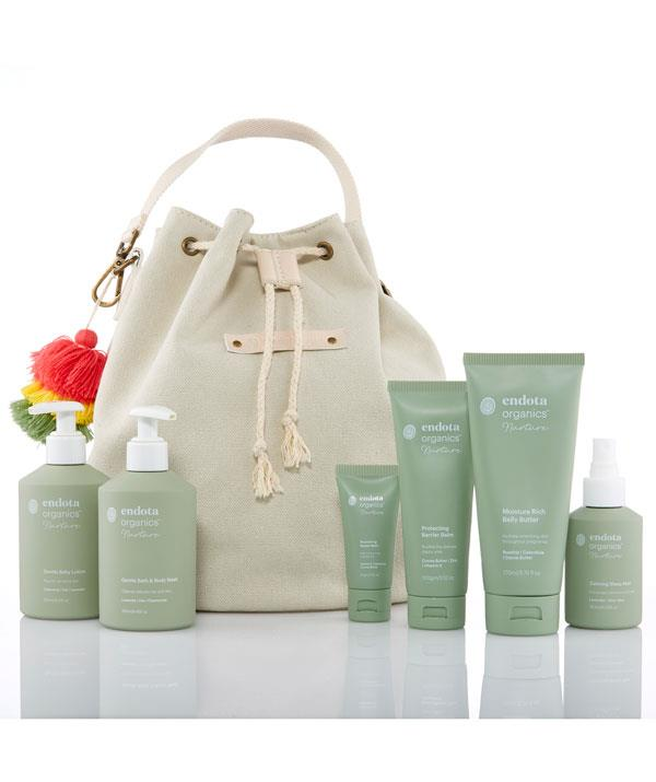 Enjoy a spa experience at home with the endota Nurture range for mums and bubs.