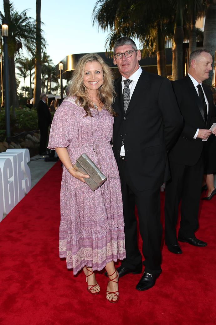 Bridie and her husband Michael at the 61st TV WEEK Logie Awards.