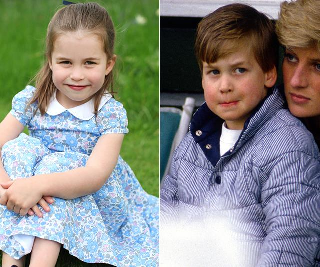 And the new pictures revealed her striking similarities to dad Prince William!
