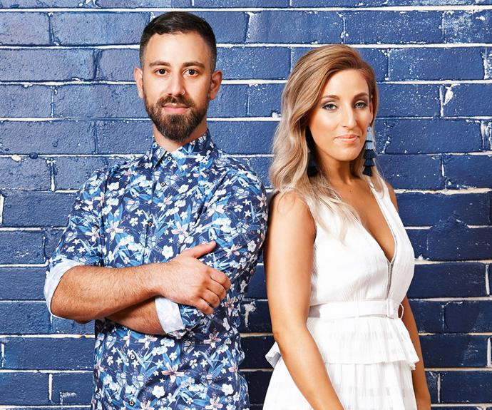 "Pete and Courtney have been dealing with ""hurtful"" comments (Image: Channel Seven)."