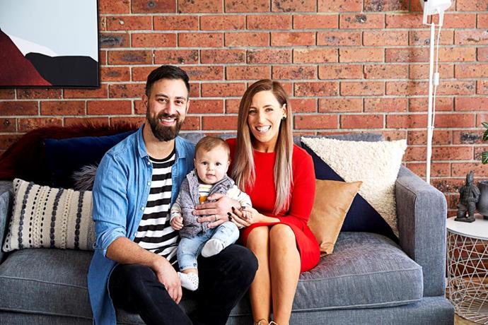 """Pete and Courtney say they """"missed a lot"""" of moments with Casper to participate in House Rules (Image: Channel Seven)."""