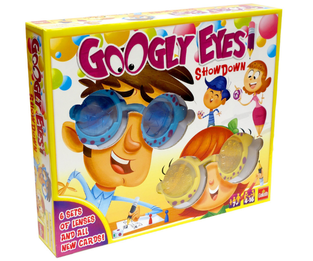 **Googly Eyes Showdown RRP $29.99:** No matter how far technology advances, nothing replaces the good old-fashioned fun of a family games night. With Googly Eyes Showdown you have your team guess the word that you are drawing before the other team guesses theirs. Put on the wacky vision altering glasses and bring on the laughter! Suitable for players aged 7+ and available at Big W and other leading retailers.