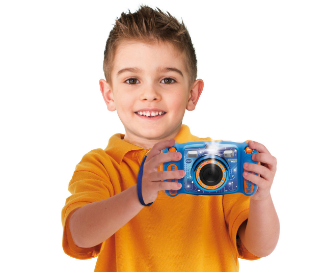 **Kidizoom DUO 5.0 Camera, RRP $99.95:** Digital cameras aren't just for the grown-ups! Kids can also take great photos and videos with the Kidizoom DUO 5.0 dual lens camera.  The front and rear lenses can be swapped at the touch of a button, making it simple to take photos, videos, and selfies!  Other features include: 4x digital zoom, built-in auto flash, fun learning games, voice changing effects, wacky photo shaker, photo editor, cool built-in games and more. Suitable for children 3-9 Years, and available in blue and pink now from Big W and other good toy stores and online retailers.