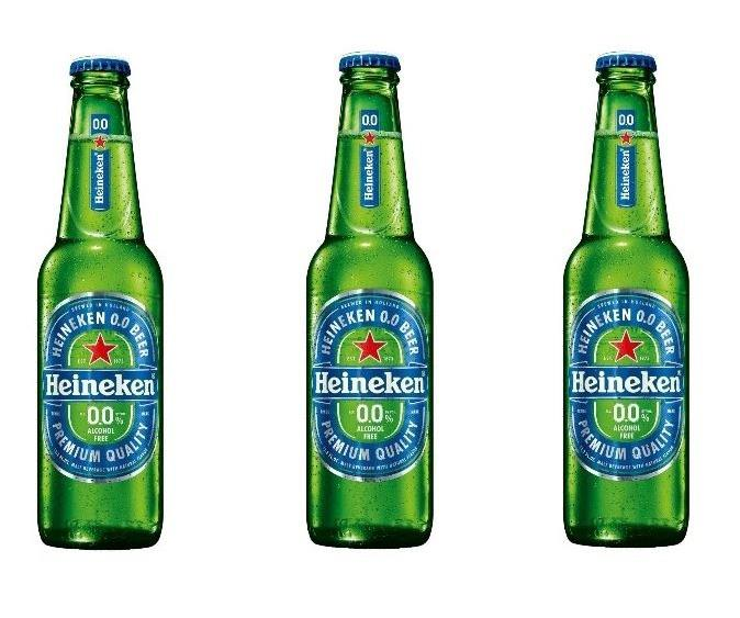 **HEINEKEN 0% BEER** <br><br> Enjoy James Bond's favourite beer while still abstaining from the booze.  <br><br> *$41 for a case, BWS*