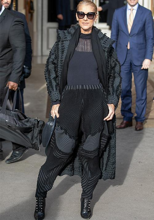 Attending Paris Fashion Week again back at the start of the year, Celine oozed sport-mod chic in this get-up.
