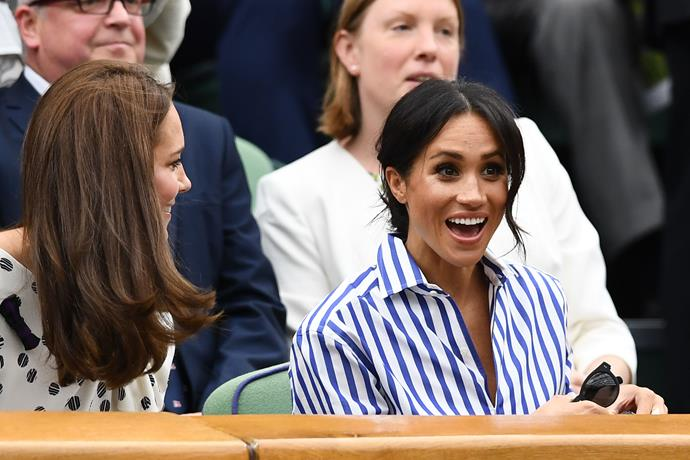 And who could forget Meghan Markle and Kate's 2018 debut?!