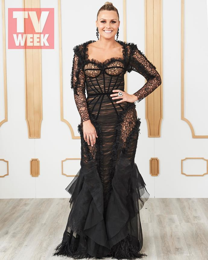 **Sophie Dillman, Home and Away** <br><br> From Summer Bay to the TV WEEK Logie Awards, Sophie looked stunning in an incredible Con Ilio dress.