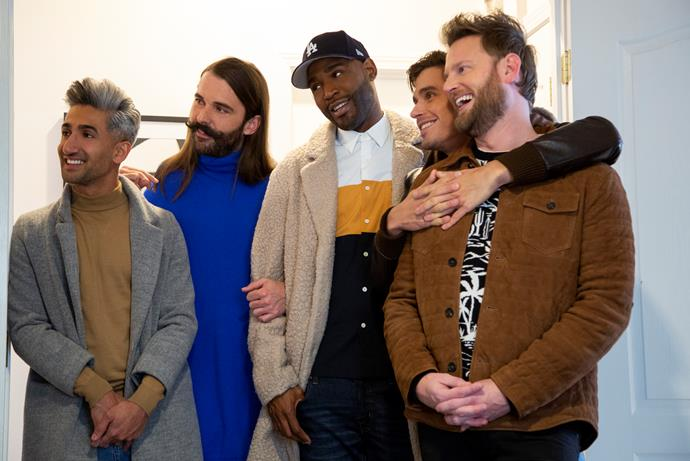 The fab five are back with Queer Eye Season 4.