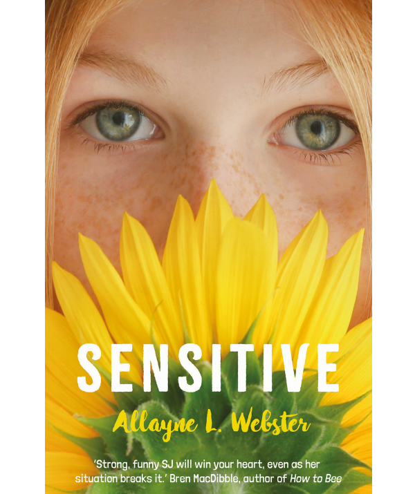 """Allayne L. Webster's new middle reader fiction novel *[Sensitive](https://www.uqp.uq.edu.au/book.aspx/1505/Sensitive