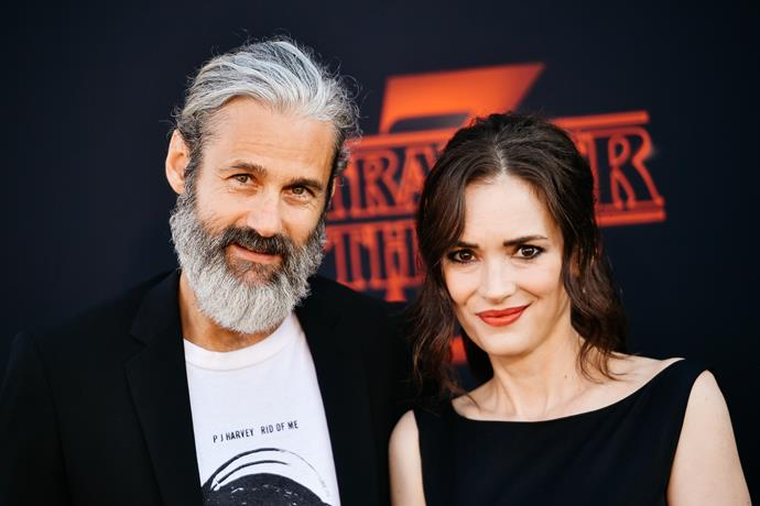 Winona and Scott couldn't look happier.