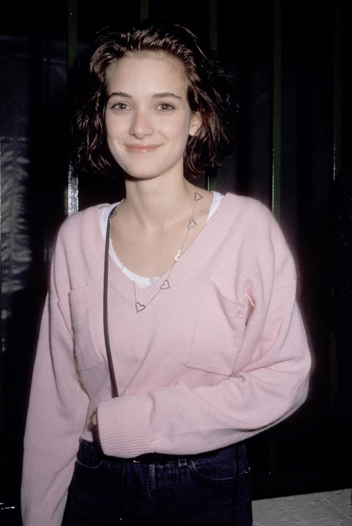 Winona was caught shoplifting in 2001.