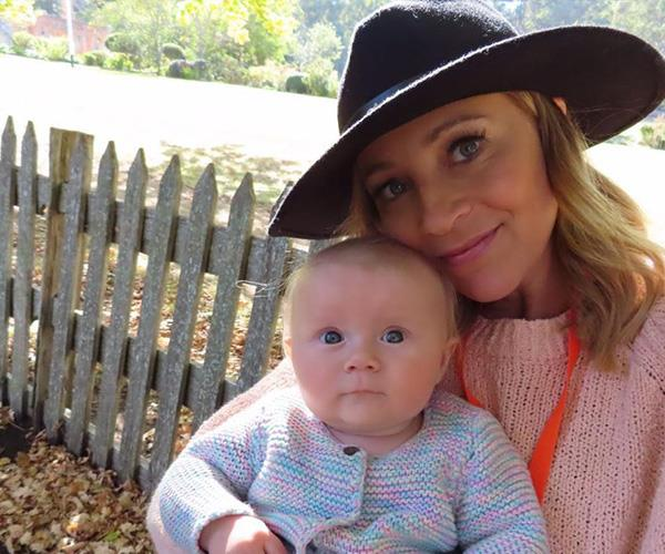 Carrie gave birth to adorable baby Addie in December 2018.