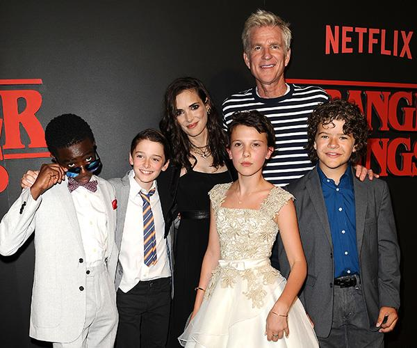 The kids of *Stranger Things* have grown up heaps since the first season, but there's no change in Winona!