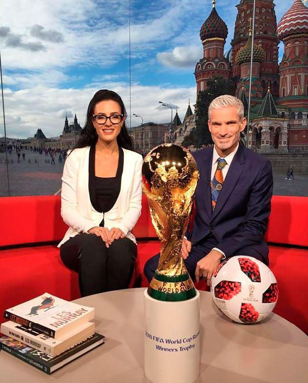 Lucy faced criticism for pronouncing names correctly during the broadcast (Image: Instagram/@lucyzelic).
