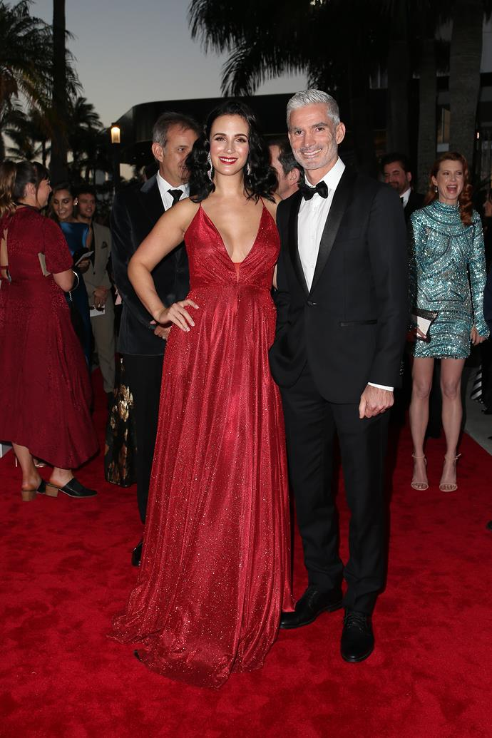 Lucy and Craig at the TV WEEK Logie Awards (Image: Supplied).