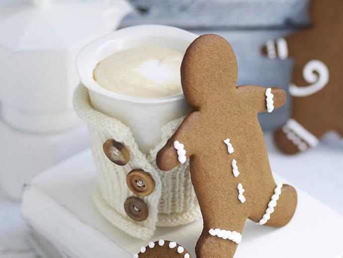 "**Gingerbread folk** <br><br> These homespun gingerbread folk are adorable and delicious. Perfect for a themed bash, such as a baby shower or with eggnog for a pre-Christmas sundowner. <br><br> *See the full Australian Women's Weekly recipe [here](https://www.womensweeklyfood.com.au/recipes/gingerbread-folk-23951|target=""_blank""