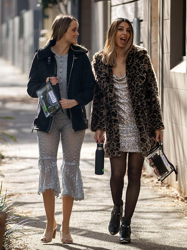 """Besties Rachael and Roula appeared in the 2018 season and were quickly branded villains, but Roula later insisted she's just a """"pretty down-to-earth socialite""""."""